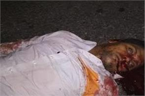 waiter killed in road accident deceased was a ludhiana resident