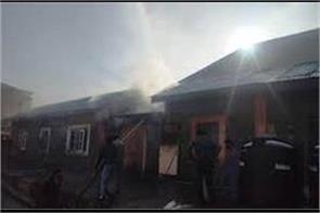 fire brokeout in soura srinagar hospital