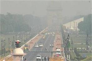 air quality approaches near critical level in delhi
