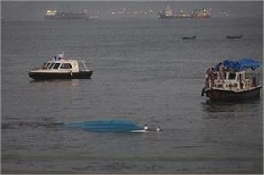 dipped boat near mumbai coast 1 killed