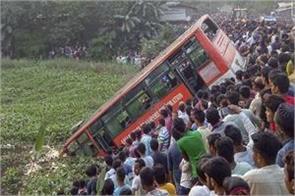 bus collapses in assam six people die