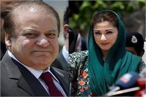 supreme court of pakistan issued notice against nawaz and his daughter