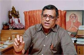 gurumurthy said if the ban was not made then the economy collapsed