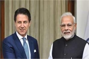 italy s prime minister s one day visit to india today