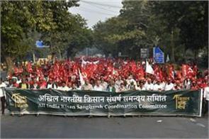 farmers gather in ramlila maidan of delhi cover the parliament today
