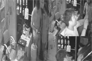 thieves robbed of mobile phones of millions of rupees captured in cctv