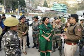 arunachal a clash between army policemen nirmala reached to settle down