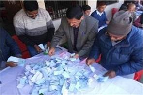 counting of votes started in uttarakhand