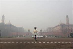 minor improvement in the air in delhi