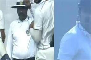 umpire gave wrong turn out gautam gambhir watch video