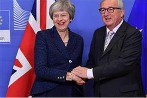 eu backs uk leader theresa may s brexit deal at historic summit