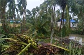 cyclone storm gaja arrived in kerala