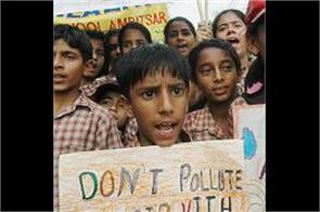 school children did not burn fireworks