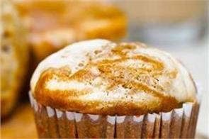 chai spiced cheesecake muffins with masala tea