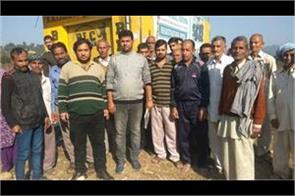farmers of kandi kathua are unhappy with govt