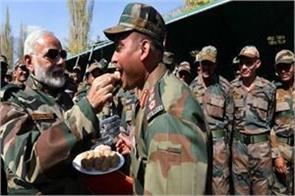 pm modi to celebrate diwali with soldiers on china border