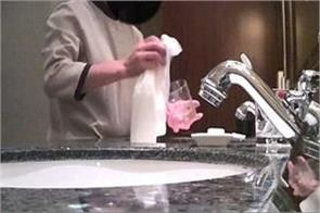 viral video shows china hotel staff cleaning cups sinks and toilets