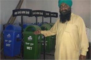 ward number 39 s dustbins are hiding in kumbhara dharamsala