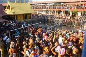 appeal of hindu organizations not send women journalists to sabarimala