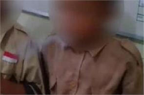 school children smoking cigarette video viral