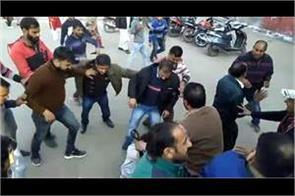 doctor alledgely beaten the patient in rajouri