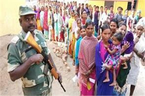 chhattisgarh election voting begins in 72 constituencies in second phase