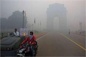 delhi pollution cpcb rain