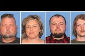 4 arrested in execution style shootings of 8 family members in us