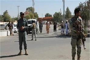 afghanistan 2 officers die in bomb blast