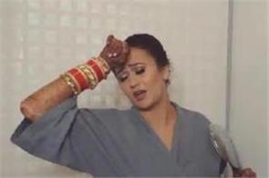 bride dances to single rehne de just before wedding
