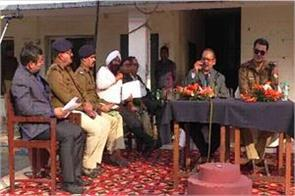 district collector and ssp meeting
