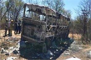 zimbabwe bus accident 42 people die