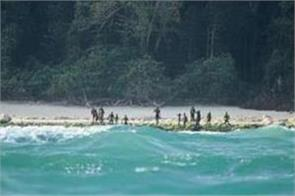 american killed by protected andaman tribe