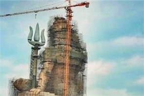 the tallest shiva statue of the world will now be built in rajasthan