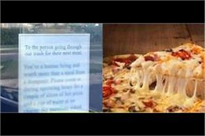us pizza outlet s offer to homeless poor people is melting hearts