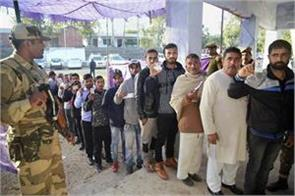 chhattisgarh election second phase 65 voting has been started till five
