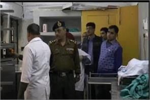 army team inspection of the college base hospital