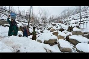 cold in kashmir