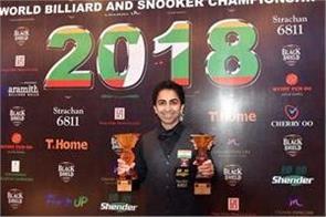 pankaj advani s full on show the superb 2 world billiards title won in 2 weeks