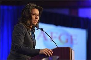 america s first hindu mp tulsi gabbard can fight 2020 presidential election