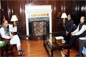 cm jairam met these 3 central ministers in delhi