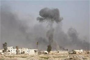 4 terrorists pile in air strike in iraq