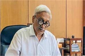 goa s people asked parrikar s resignation