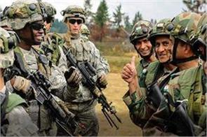 india and us troops started joint exercises