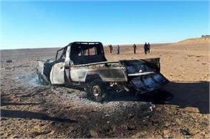 10 terrorists die in unknown air strikes in libya