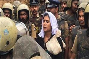 sabarimala rehana fatima arrested for allegedly hurting religious sentiments
