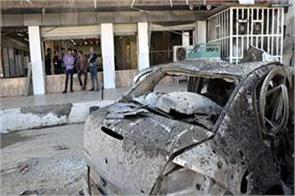 iraq car bomb blast kills 2 people injures 15