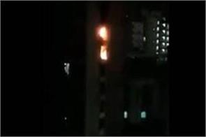 two persons killed in fire in multi storey building in mumbai