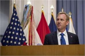 patrick shanhaan will be the us defense minister
