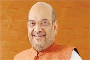 amit shah reached somnath after campaigning in five states
